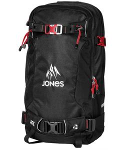 Jones Higher 30L R.A.S Backpack Black/Red