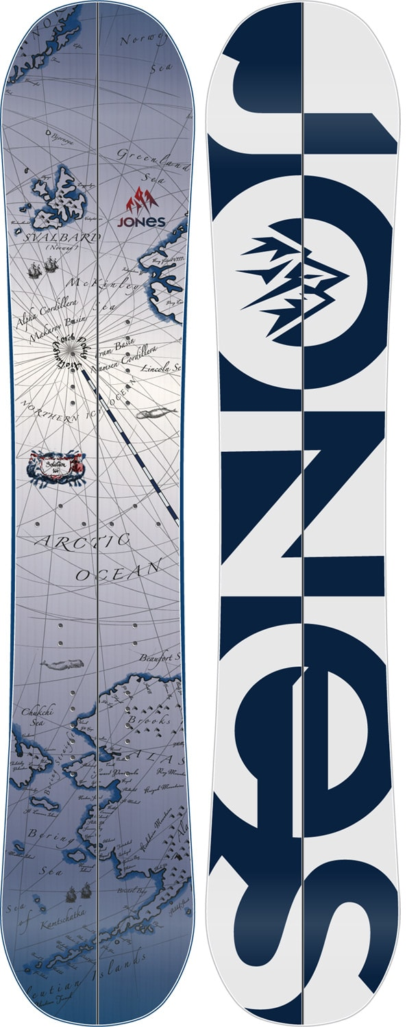 Jones Solution Wide Splitboard Snowboard 163 - Men's
