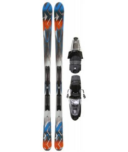 K2 A.M.P. Live Wire Skis w/ Marker M2 10.0 Bindings