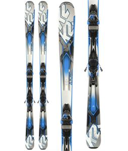 K2 Amp 76 TI Skis w/ Marker M3 12 Bindings