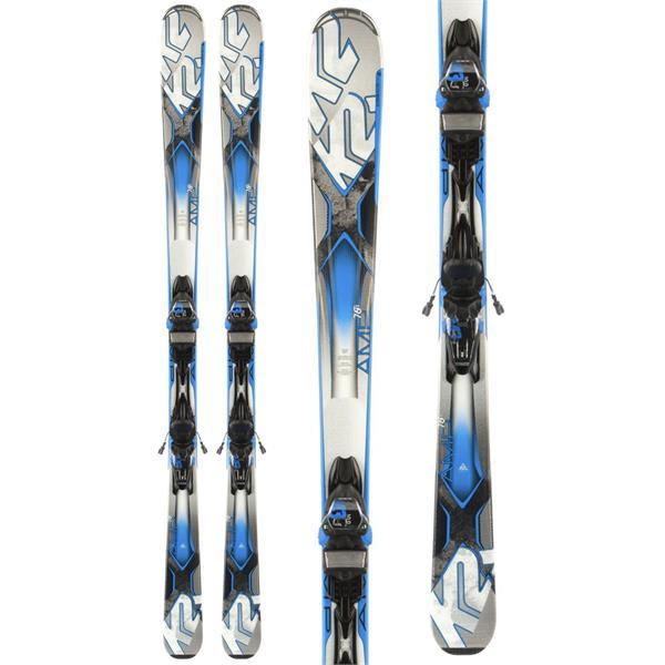 K2 Amp 76 TI Skis w/ Marker M3 12 Bindings