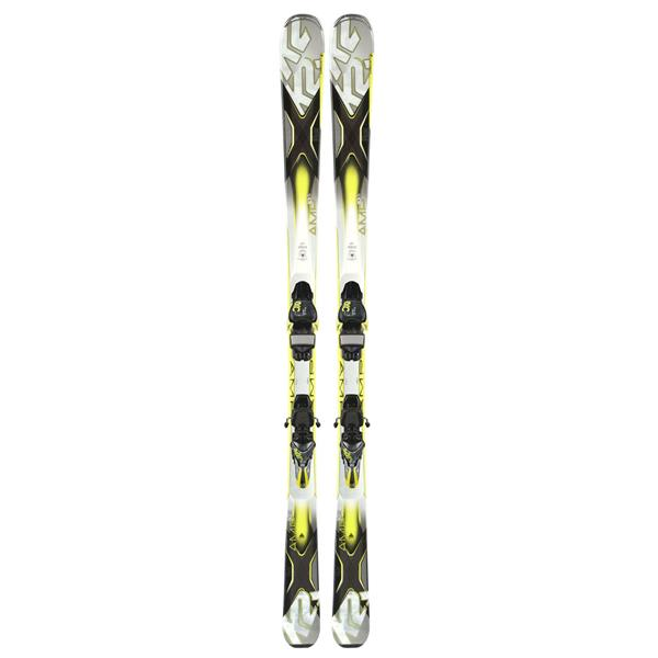 K2 AMP 80XTi Skis w/ Marker MXC 12 TC Bindings