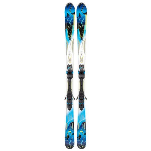 K2 A.M.P. Aftershock Skis w/ Marker Mx 14.0 Bindings