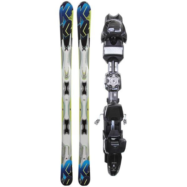 K2 A.M.P. Aftershock Skis w/ Marker MX 12.0 Demo Bindings