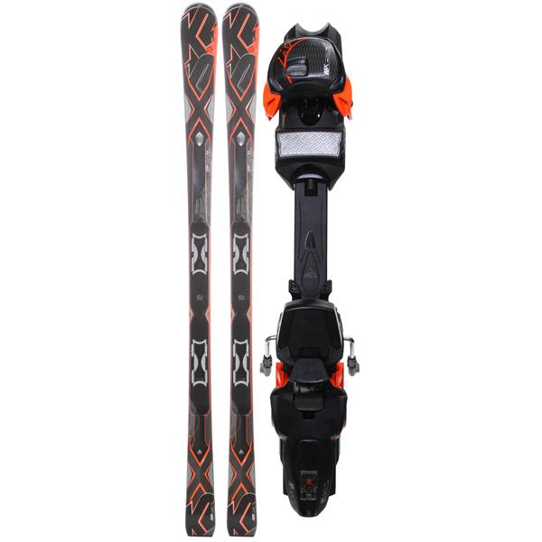 K2 A.M.P. Bolt Skis w/ Marker Mx 14.0 Bindings
