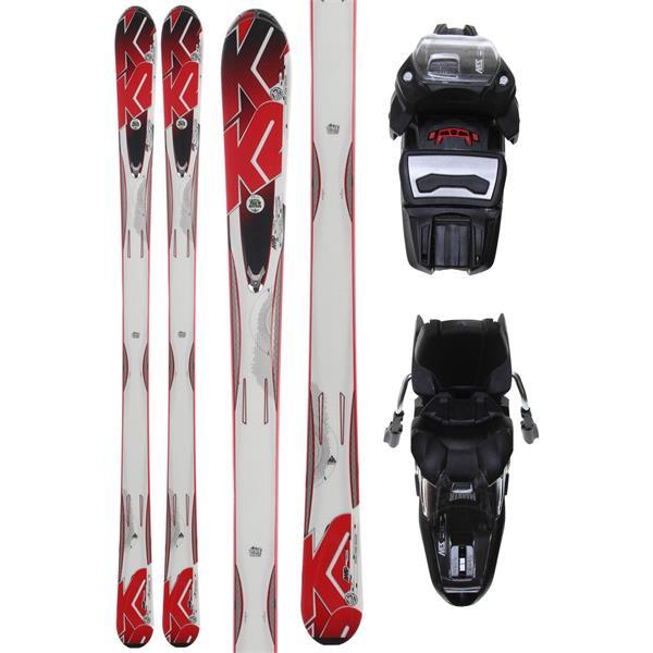 K2 A.M.P. Force Skis w/ Marker M3 10.0 Demo Bindings