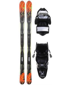 K2 A.M.P. Impact Skis w/ Marker M3 11.0 Bindings