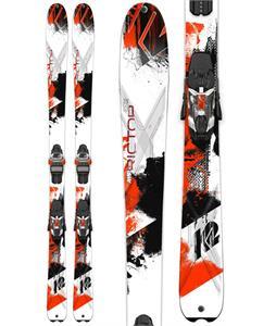 K2 Amp Rictor 90 XTI Mens Skis w/ Marker XC 14 Bindings
