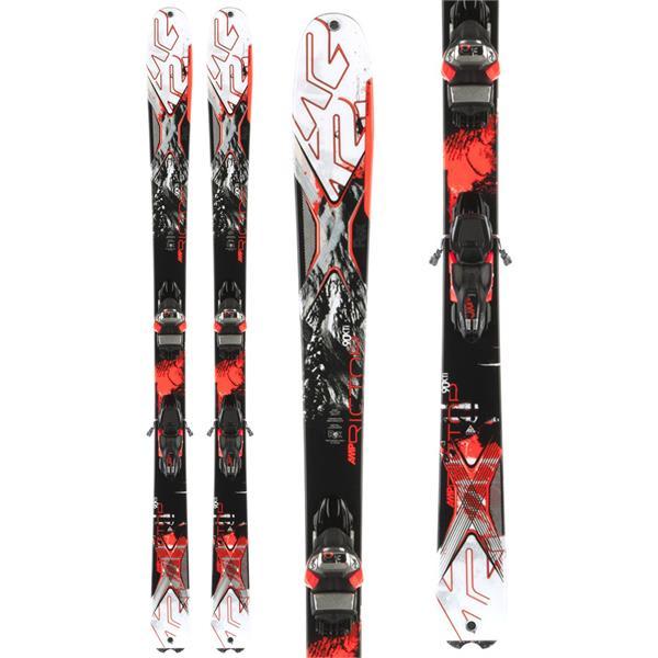 K2 Amp Rictor 90Xti Skis w/ Marker MXC 14 Bindings