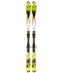 K2 A.M.P. Rictor Skis w/ Marker Mx 12.0 Bindings