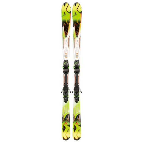 K2 A.M.P. Rictor Skis w/ Marker Mx 12.0 Bindings