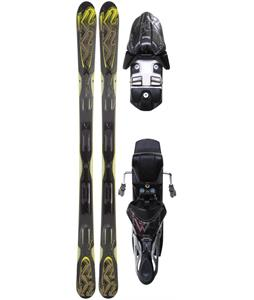 K2 A.M.P. Shockwave Skis w/ Marker M2 10.0 Bindings