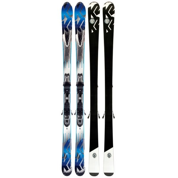 K2 A.M.P. Stinger Skis w/ Marker M2 10.0 Bindings