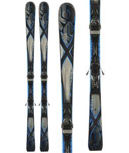 K2 Amp Velocity Skis w/ Marker M3 11 Bindings