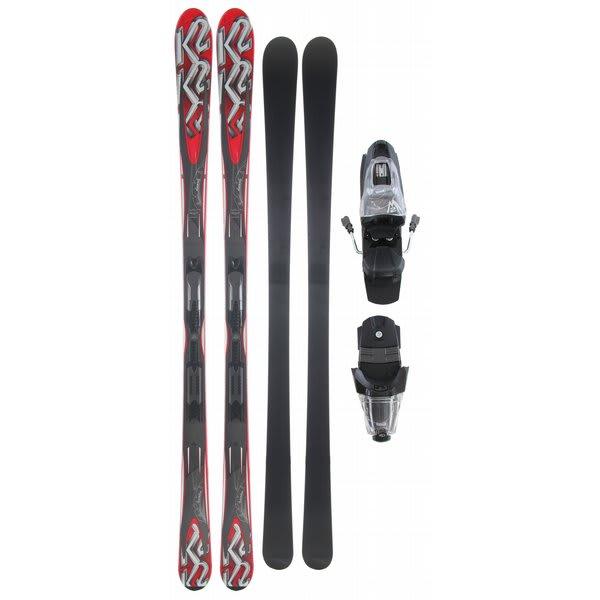 K2 A.M.P. Sabre Skis w/ Marker M2 10.0 Bindings