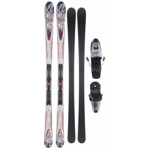K2 A.M.P. Stryker Skis w/ Marker M2 10.0 Bindings