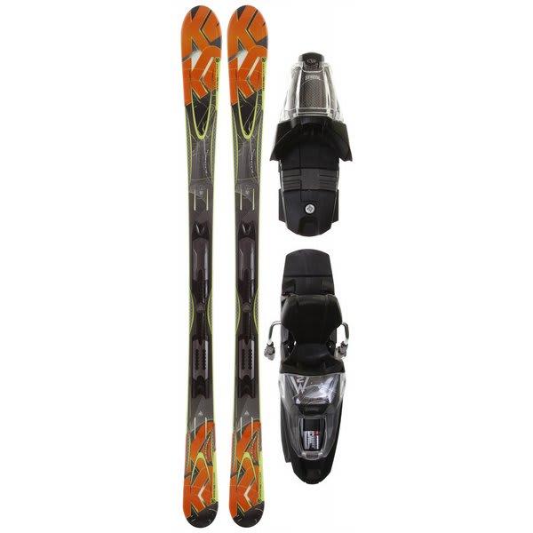 K2 Apache Blackhawk Skis w/ Marker M2 10.0 Bindings