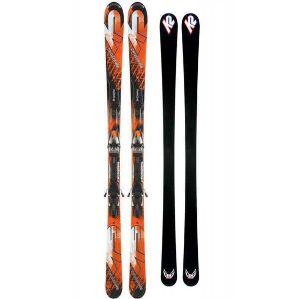 K2 Apache Crossfire Skis w/ Marker MX 12.0 Bindings