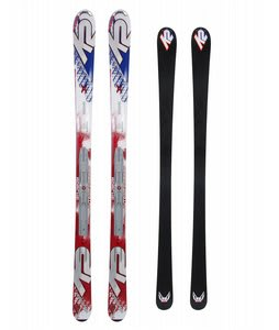 K2 Apache Interceptor Skis w/ Marker Ibc 10.0 Binding