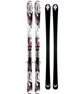 K2 Apache Raider Skis w/ Marker IBC 10.0 Bindings