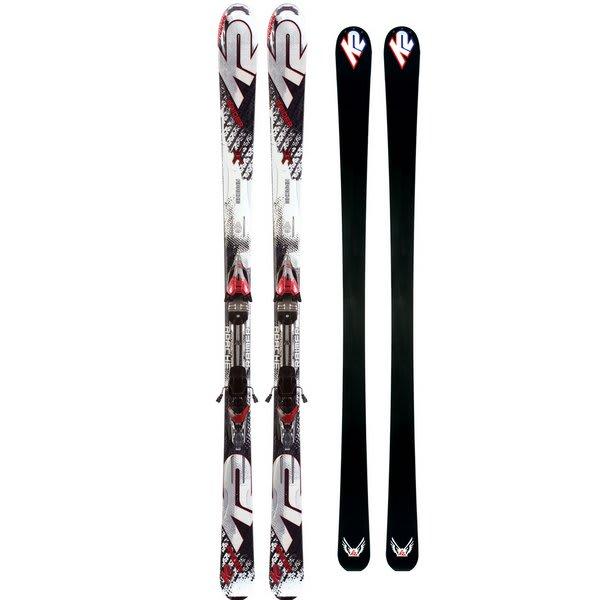 K2 Apache Raider Skis w/ Marker IBC 10.0 Bindings