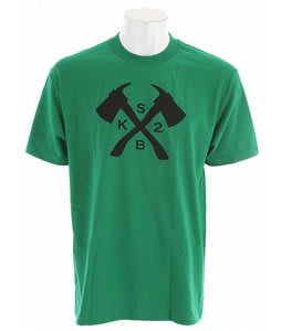 K2 Axe T-Shirt Green