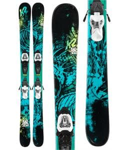 K2 Bad Seed Skis w/ Marker Fastrak2 7 Bindings