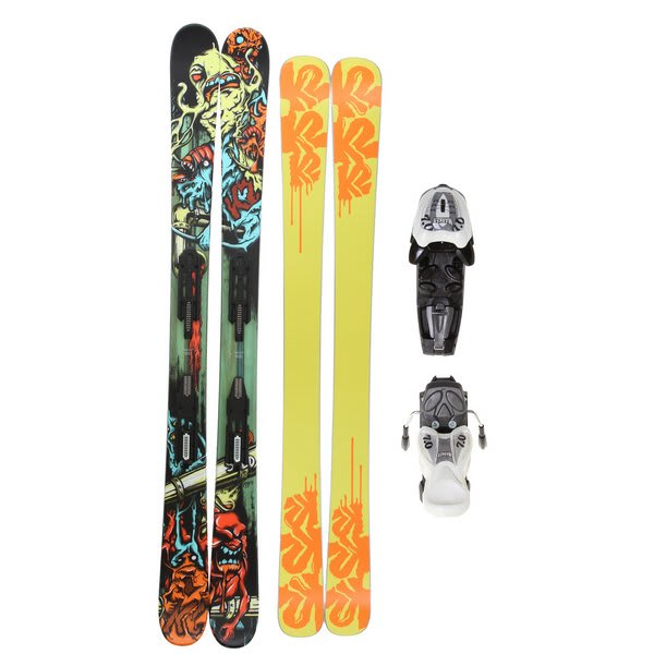 K2 Bad Seed Skis w/ Marker Fastrack2 7.0 Bindings