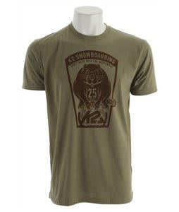 K2 Beaver T-Shirt Olive Heather