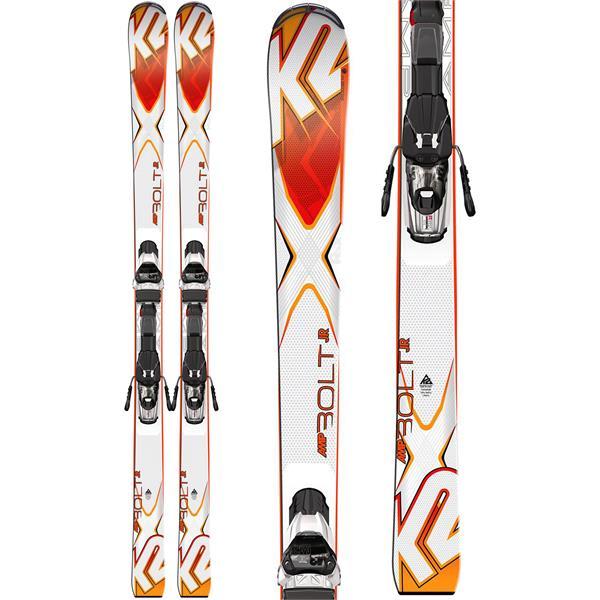 K2 Bolt Jr Skis w/ Marker Fastrak2 7 Bindings