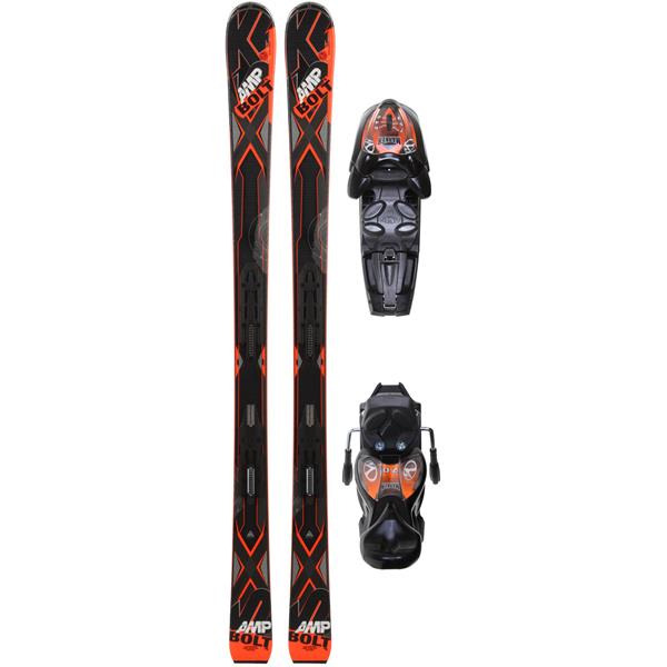 K2 Bolt Jr Skis w/ Marker Fastrak2 7.0 Bindings