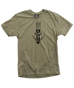 K2 Bombs Slim T-Shirt Light Olive