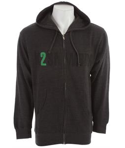 K2 Burroughs Zip Hoodie Charcoal Heather