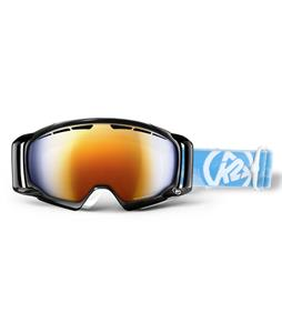 K2 Captura Goggles Black/Burnt Orange Blue Octic