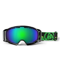 K2 Captura Goggles Black/Brown Green Octic Mirror