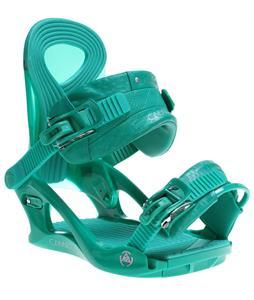 K2 Cassette Snowboard Bindings Emerald