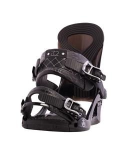 K2 Cassette Snowboard Bindings Black