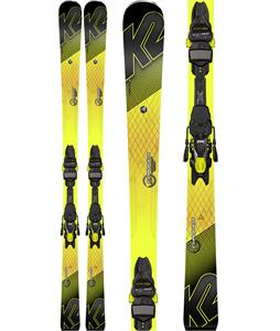 K2 Charger Skis w/ Marker M3 11 TCX Light Bindings