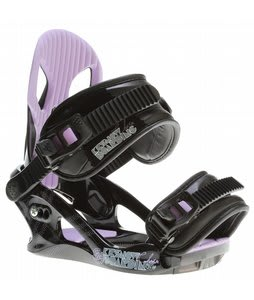 K2 Charm Snowboard Bindings Black