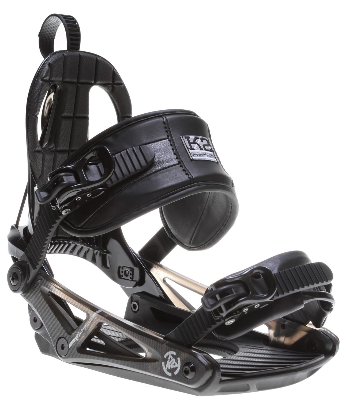 K2 Cinch CTC Snowboard Bindings Black Mens Sz L (8-11