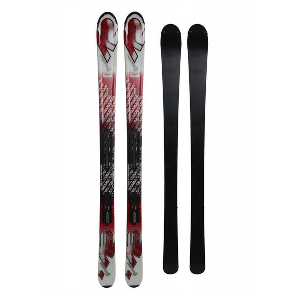 K2 Comanche Jr Skis w/ Marker Fastrak2 7.0 Bindings
