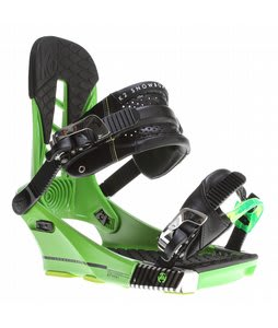 K2 Company Snowboard Bindings Green