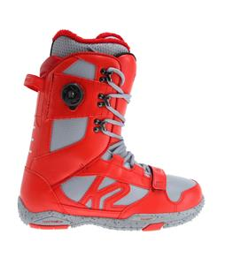 K2 Darko Snowboard Boots Red