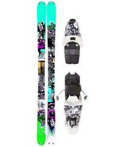 K2 Domain Skis w/ Marker 10.0 Free Bindings 159cm