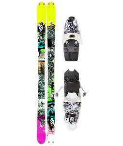 K2 Domain Skis w/ Marker 10.0 Free Bindings 169cm
