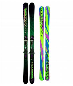 K2 Extreme Skis w/ Marker Griffon Schizofran Bindings