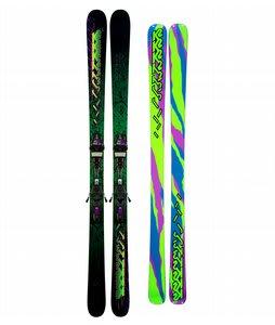 K2 Extreme Skis w/ Marker Griffon Schizofran Bindings