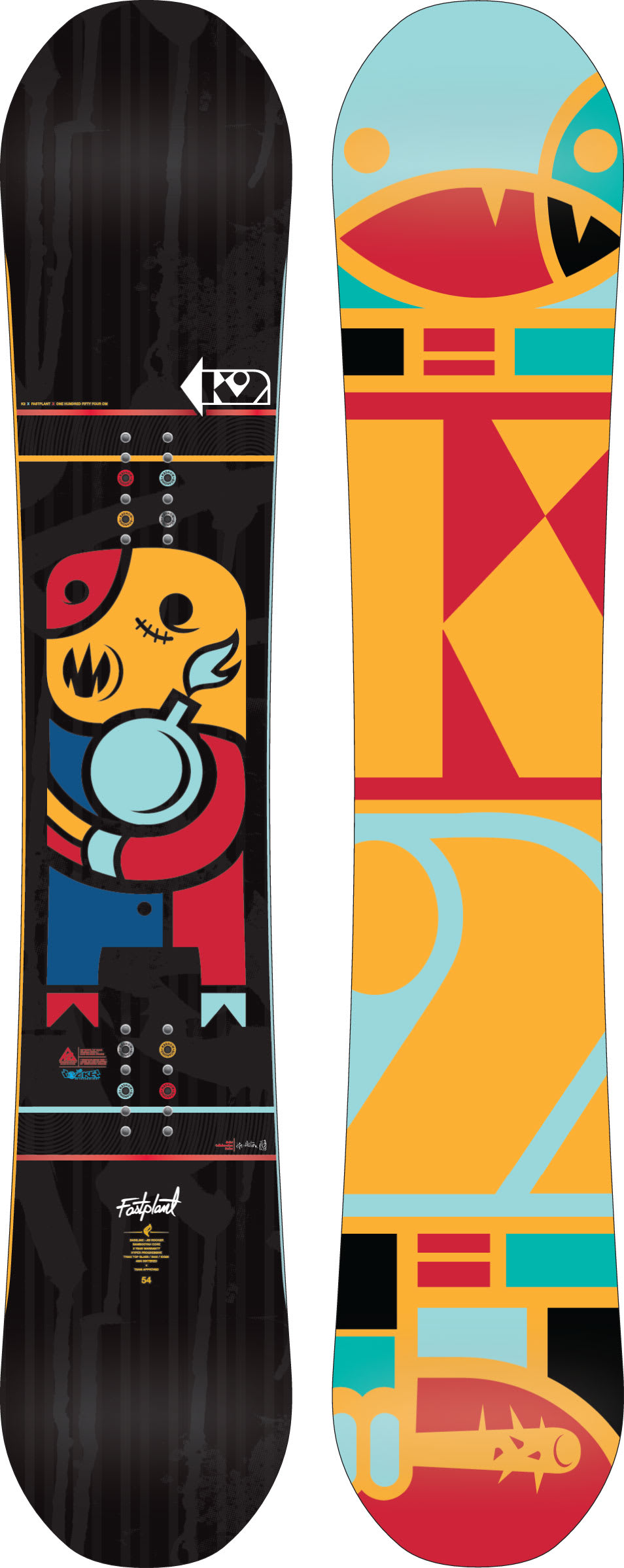 Shop for K2 Fastplant Snowboard 154 - Men's