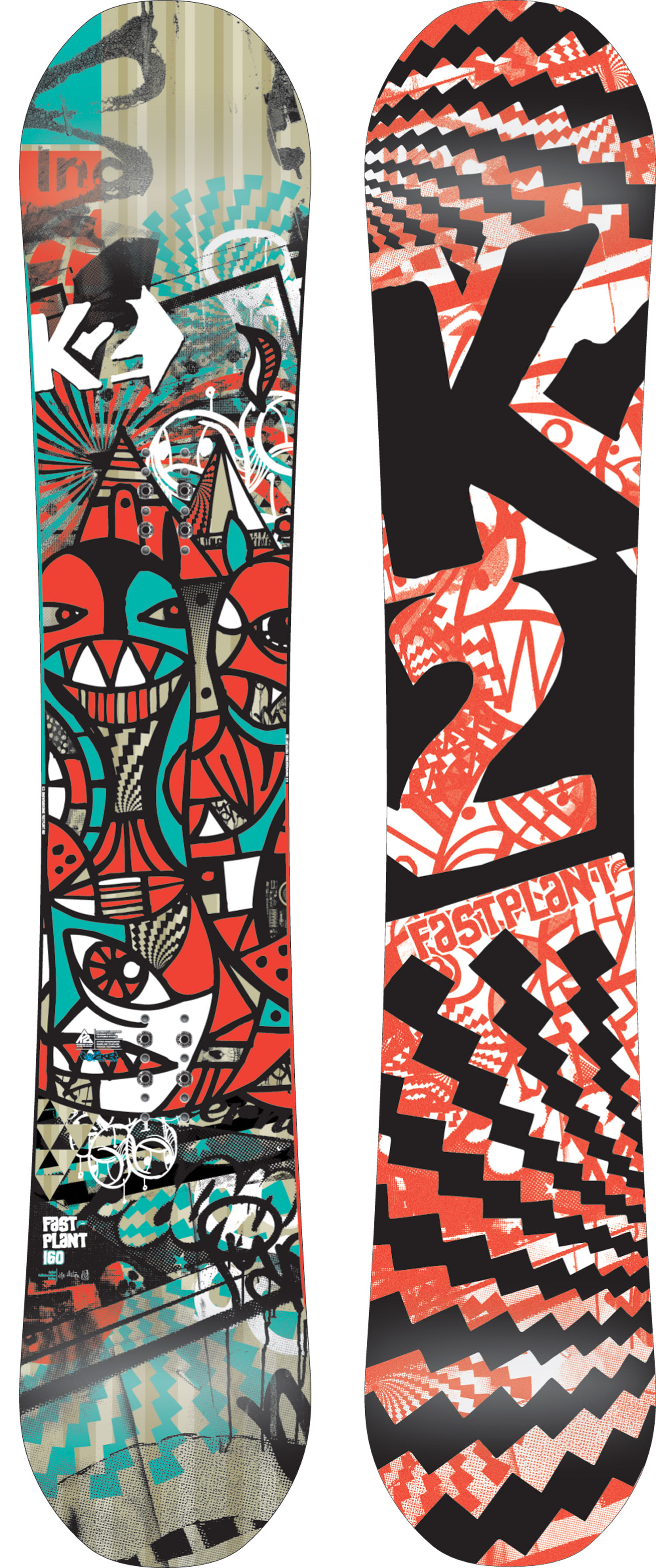 Shop for K2 Fastplant Snowboard 160 - Men's