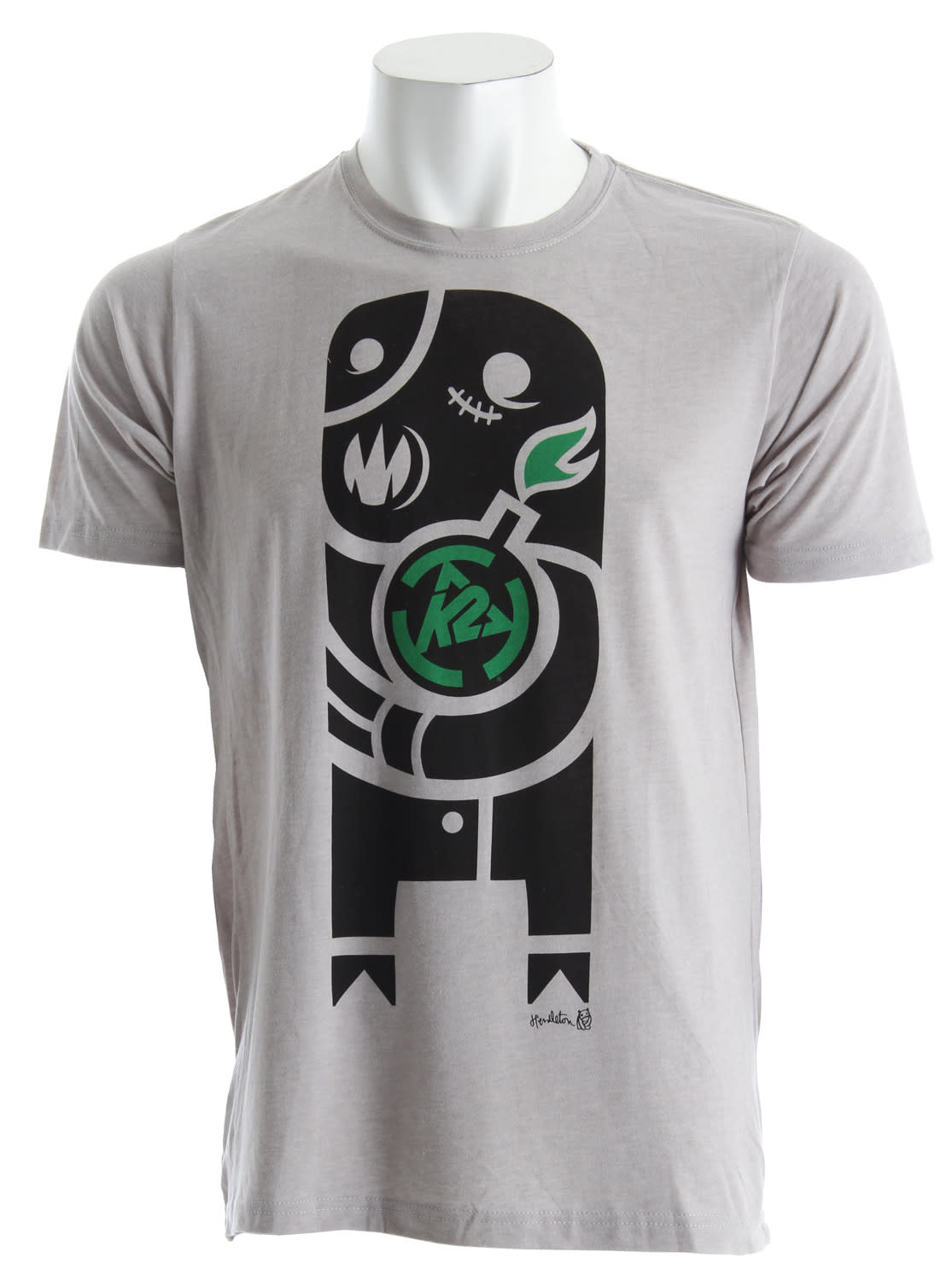 Shop for K2 Fastplant T-Shirt Light Grey - Men's